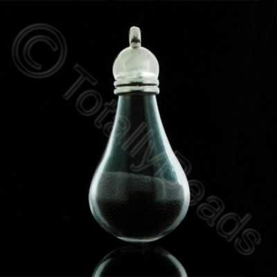 Mystical Droplet Pendant - Black