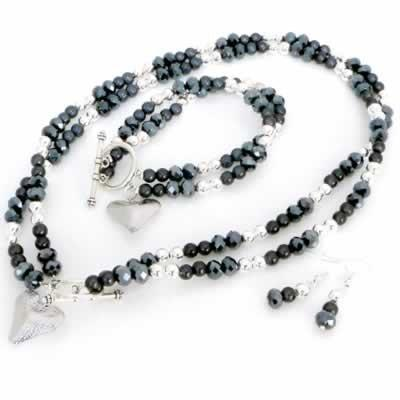 Lucy Collection - Hematite