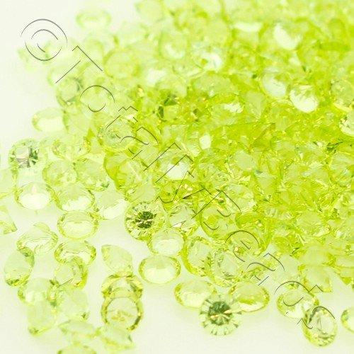 Resin Crystals 2mm - Spring Green