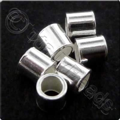 Sterling Silver - Crimp Tubes 1.5mm