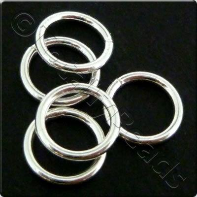 Sterling Silver - Solid Ring - 8mm