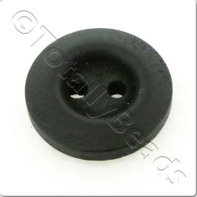 Wooden Button 15mm - Black