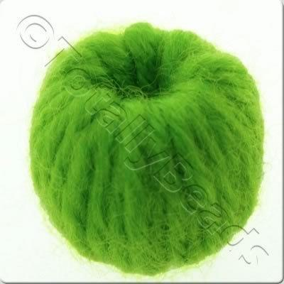 Wool Bead 22mm - Light Green