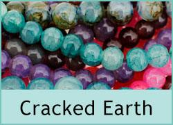 Cracked Earth Beads