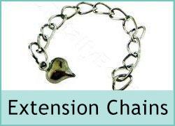 Extension Chain Necklace Tags