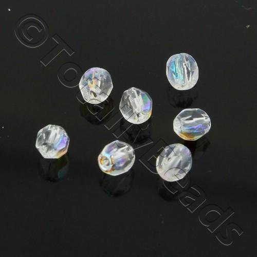 Firepolished 3mm 100pcs