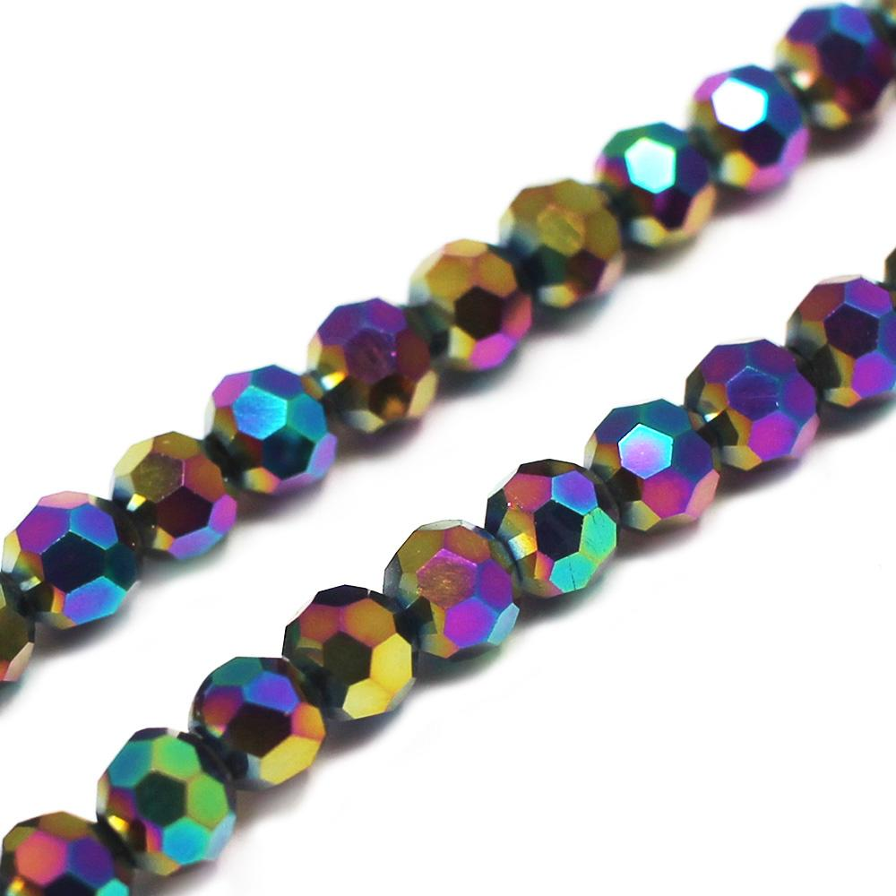 Crystal Round 4mm - Rainbow