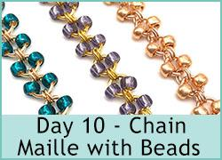 Day 10 - Chain Maille with beads