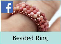 Beaded Ring - 28th April