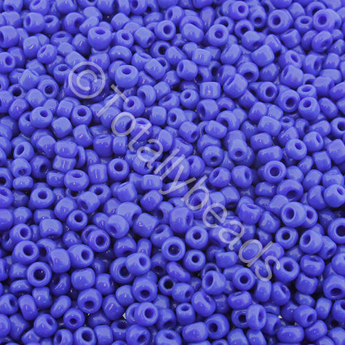 Seed Beads Opaque  Dark Blue - Size 11