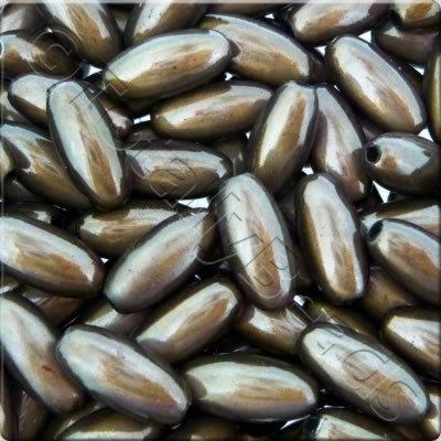 Miracle Beads - 6x12mm Rice - Shadow