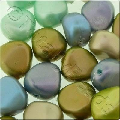 Acrylic Imitation Pearl - 11mm Nugget - Mix 1