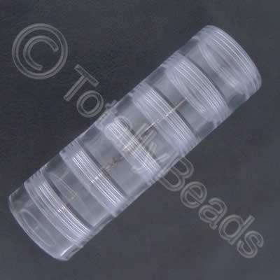 Storage Tube - Large Screw Tops - 6