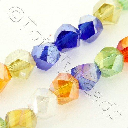Crystal Twist 4mm - Mixed Colours