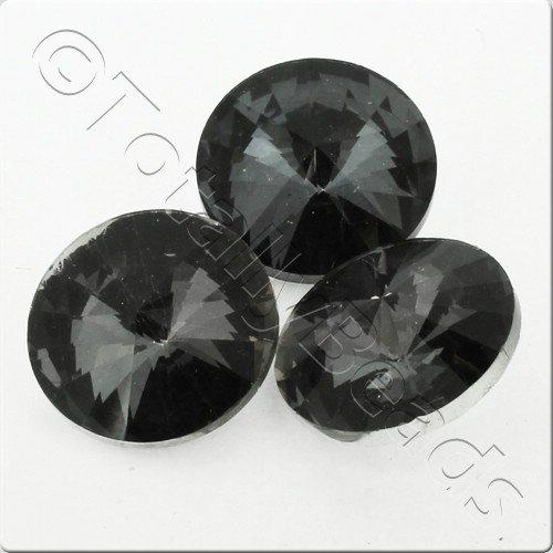 Crystal Rivoli - 18mm Smoky Quartz