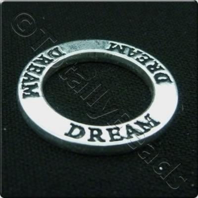 Tibetan Silver Message Ring - Dream