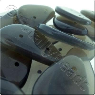 Acrylic Spacer Beads - Grey
