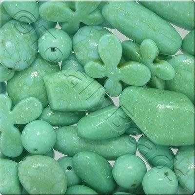 Acrylic - Imitation Stone - Sea Green Mix