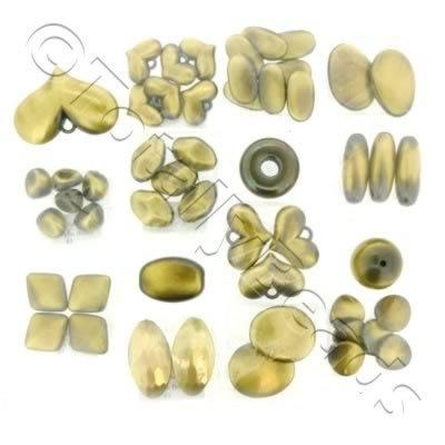Acrylic Bronze Mixed Pack - 15 Bags