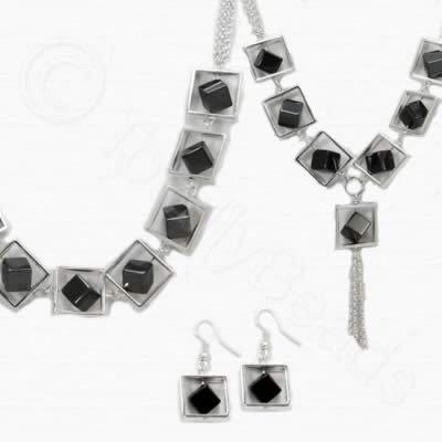Sadie Necklace Kit - Hematite