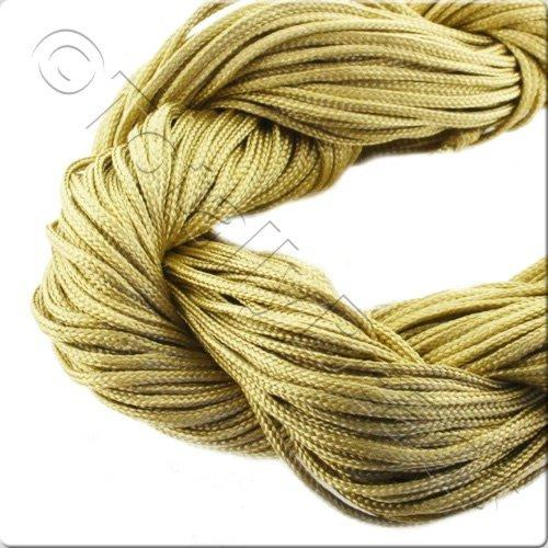 Rattail Cord 1mm Gold - 10m
