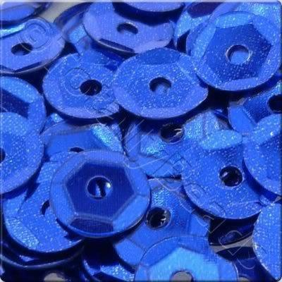 Sequins - 6mm Cup - Metallic Dark Blue