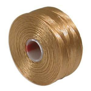 Superlon Thread D - Light Brown