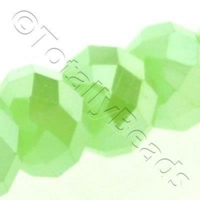 Crystal Rondelle 9x12mm - Opal Green AB