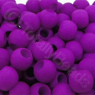 Acrylic Beads 10x8mm - Purple