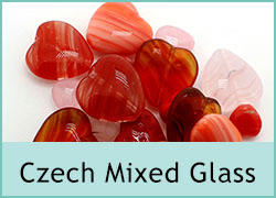 Mixed Czech Glass Bead