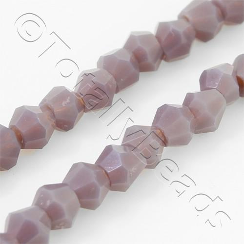 Crystal Bicone 4mm - Lavender