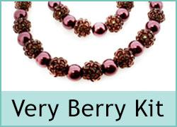 Very Berry Necklace & Bracelet Kit