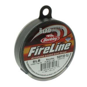 Fireline Thread 6lb 0.006in Smoke Grey 50 Yards