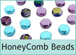 Czech Honeycomb Beads