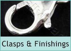 Sterling Clasps & Finishing