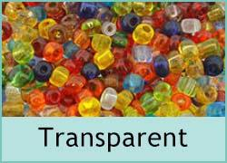Transparent Seed Beads