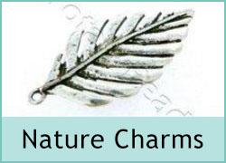 Metal Charms - Nature