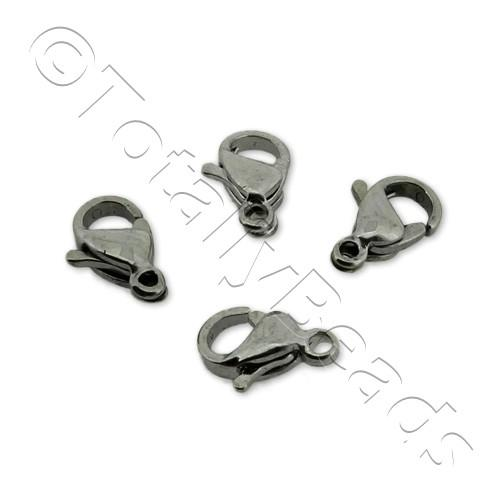Stainless Steel Lobster Clasp 9mm 8pcs