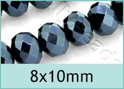 8x10mm Crystal Rondelles