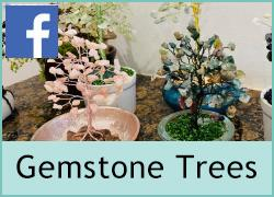 Gemstone wire tree's - 4th June