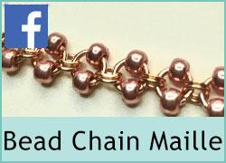 Chain Maille with Beads - 17th August