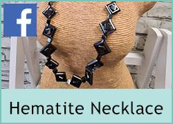 Hematite Necklace - 7th October