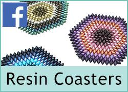 Resin Coasters - 23rd January