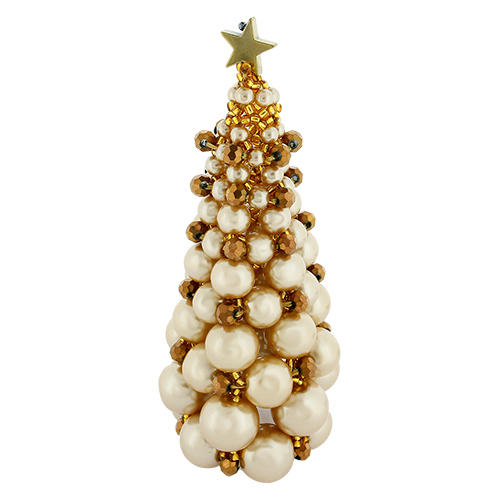 Christmas Tree Kit Gold Craft Hobby Jewellery Supplies Totally Beads