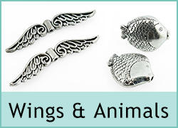Wings and Animal Beads