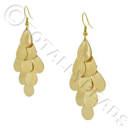 Cascade Earring Kit - Gold Teardrops