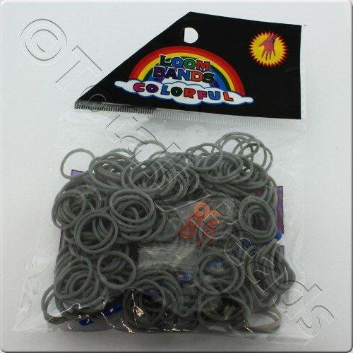 Loom Bands 300pcs - Grey