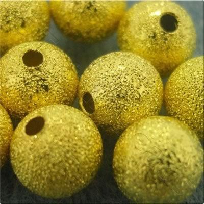 Stardust Beads - Gold - 4mm