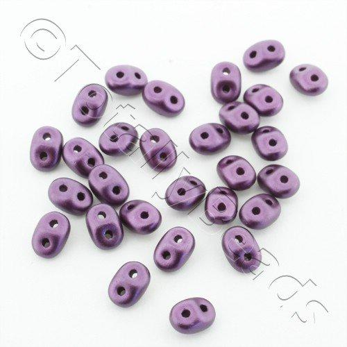 Superduo 2.5x5mm 10g - Pastel Purple