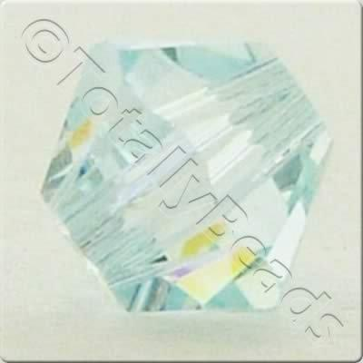 Swarovski 4mm Xilion Bicone - Light Azore AB